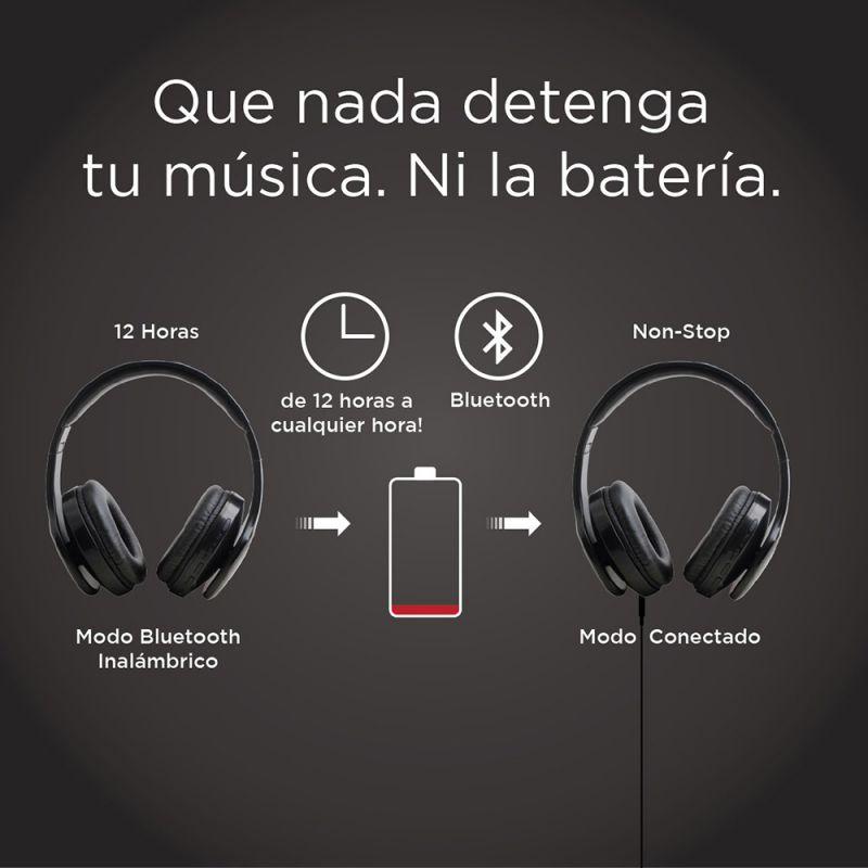 AURICULARES BLUETOOTH CON FUNCIÓN FM RADIO
