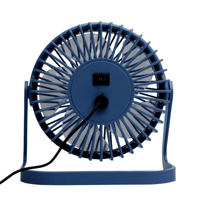 "VENTILADOR DE PLÁSTICO MINI USB DE 5"" (12cm) Azul"
